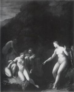 Diana ontdekt de misstap van Callisto