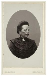 Portret van Aafke de Gavere (1857-1934)
