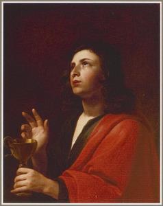 De H. Johannes de Evangelist met gifbeker en slang