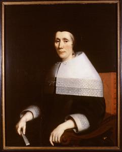 Portret van Elisabeth van Druenen ( -1686)