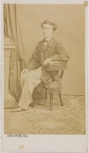 Portret van een man, waarschijnlijk Daniel Wicherlink (1838-1915)