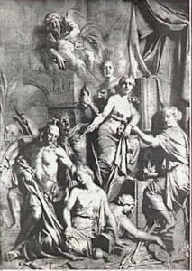 Allegorie op de val van Rome