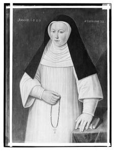 Portret van een onbekende non