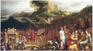 De doortocht door de Jordaan (Jozua 3-4)