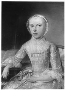 Portret van waarschijnlijk Jacoba Frederica van Barnevelt (1749-1784)