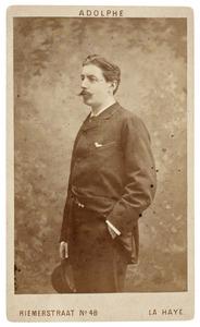 Portret van Wigbold Jan van Hogendorp (1854-1892)