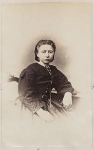 Portret van een vrouw uit familie Boschuier