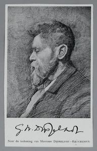 Portret van Gerrit Willem Dijsselhof (1866-1924)