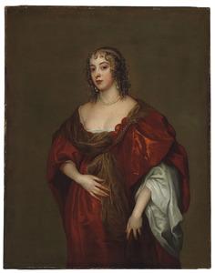 Portret van Elizabeth Howard, tweede echtgenote van Algernon Percy, 4th Earl of Northumberland