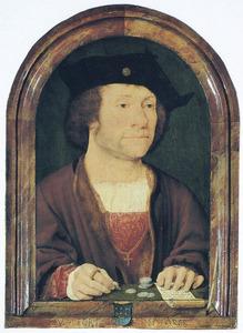 Portret van een man, genaamd Anthonis van Hilten