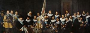 Schutters van de compagnie van kapitein Jacob Backer (1572-1643) en luitenant Jacob Rogh (1586-1670)