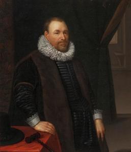 Portret van dr. Nicolaes Cromhout (1561-1641)