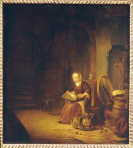 Kantkloster in een interieur