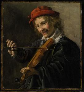 Jonge vioolspeler