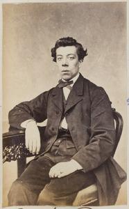 Portret van een man uit familie Bontjema