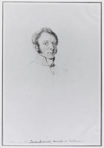 Portret van Willem Anne Schimmelpenninck van der Oye (1800-1872)