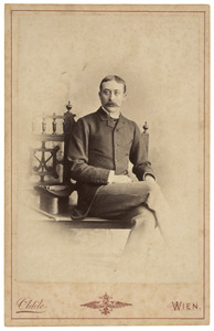 Portret van Louis Paul Marie Hubert Michiels van Verduynen (1855-1929)