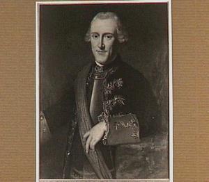 Portret van Carel baron van Boetzelaer (1727-1803),