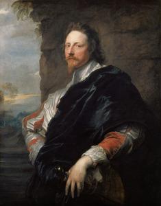 Portret van de musicus en kunstenaar Nicholas Lanier (1588-1666)