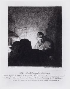 Un philosophe écrivant