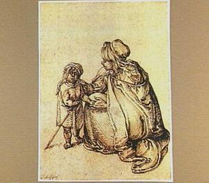 Zigeunerin met kind