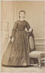 Portret van een vrouw uit familie Beckhuis