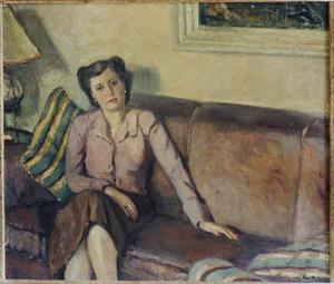 Portret van mevrouw Guépin-van Heukelom