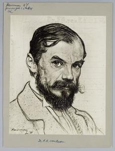 Portret van Dr. F.R. van Eeden