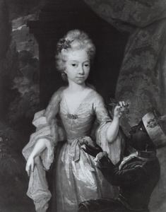 Portret van Anna Petronella van der Burch (1686-1714)