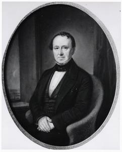 Portret van Ernst Anthon Jordens (1821-1894)