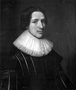 Portret van een man, genaamd Frans Meerman (1590-1657)
