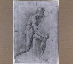 Studie van een naakte man