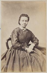 Portret van een vrouw uit familie Taekema