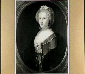 Portret van Judith Cossart (1710-1786), regentes van het Walenweeshuis 1758-1760, echtgenote van Jean Jacques Desmazures