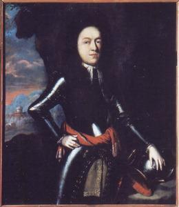 Portret van Jakub Sobieski, zoon van de Poolse koning Jan III Sobieski