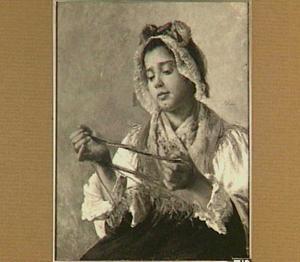 Jonge vrouw uit de Auvergne