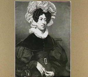 Portret van Clara Suzanna Elias (1799-1862)