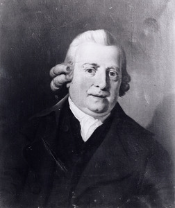 Portret van Bernardus de Bosch (1742-1816)