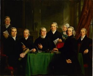 Regenten, binnenvader en binnenmoeder van het Nieuwezijds Huiszittenaalmoezeniershuis, tevens regenten van het Weduwenhof, Amsterdam