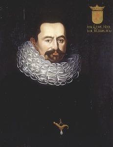 Portret van Johan Lewe thoe Peyze (1560-1615)