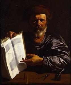 De geleerde Archimedes