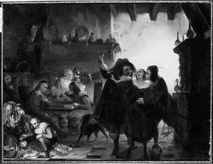 Courtship in an inn