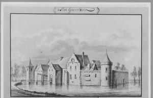 Voor- en rechterrzijde van Geervliet (ook wel het Hof van Putten) bij Spijkenisse
