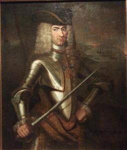 Portret van Peter Wessel Tordenskjold (1691-1720)