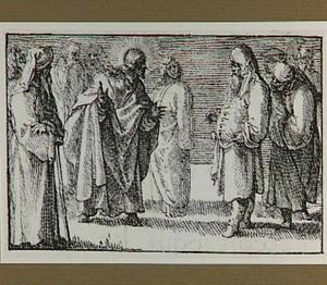 Christus spreekt tot de Farizeeën (Mattheüs 22:34-46)