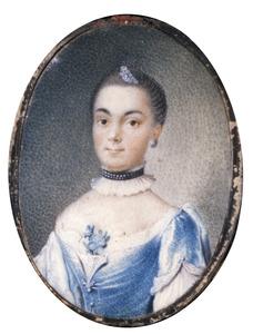 Portret van Jeanne Esther du Peyrou (1736-1797)