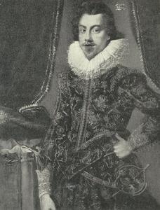 Portret van Henrick Holck van Steensgaard
