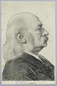 Portret van Prof. Dr. J. Bosscha