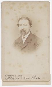 Portret van Alexander van West