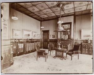Kamer in ebben en palissanderhout